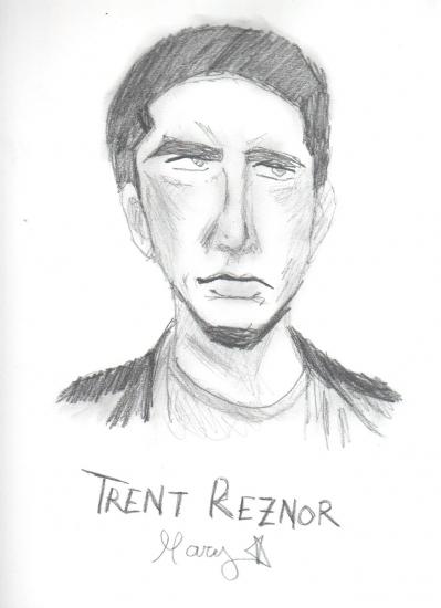 Trent Reznor by CARMEN